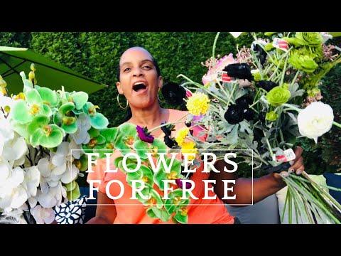 FREE Find FLOWERS 💐Blooming Dumpsters💐