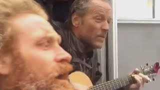 Game Of Thrones - Singing Ser Jorah, Tormund, The Hound And Beric Dondarrion