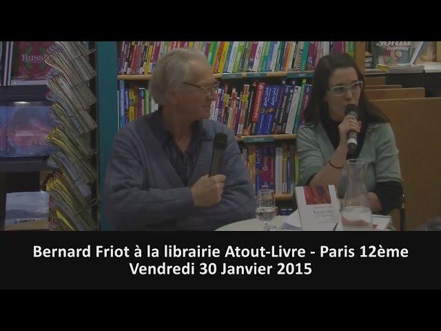 Bernard Friot à la librairie Atout-Livre