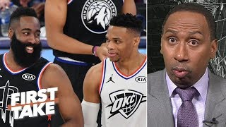 Westbrook and Harden are both ball hogs, but the Rockets made a good move - Stephen A.   First Take