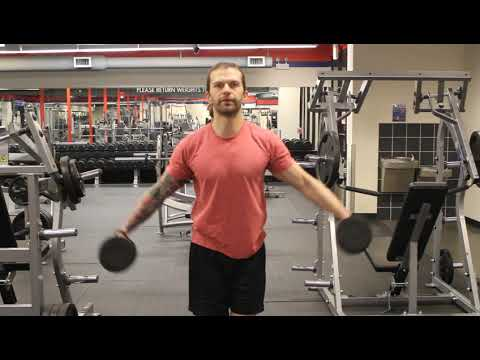 Dumbbell Lateral Shoulder Raise