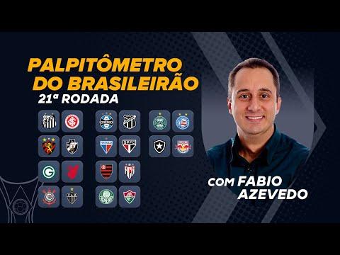 Inter, Galo, Fla e SPFC na disputa pelo título! Azevedo crava placares da rodada no Palpitômetro