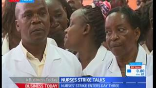 Officials differ over the legality of the strike, Nurses' strike update