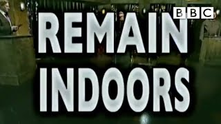 Remain Indoors Emergency Broadcast - BBC Comedy