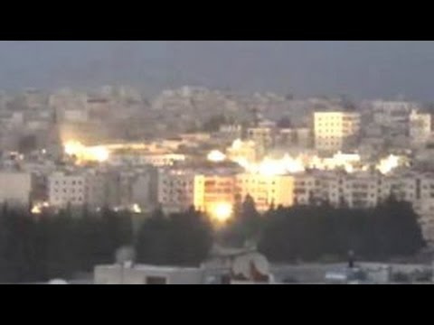 Russian Jet Drops Cluster Bombs On Aleppo, Syria Mp3