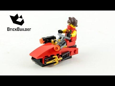 Vidéo LEGO Ninjago 30293 : Kai Drifter (Polybag)