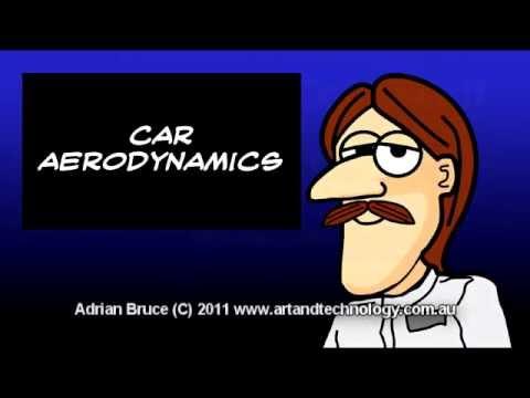 Car Cartoons History of Cool Stuff #1 - Car Aerodynamics