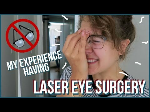 I TRIED LASIK EYE SURGERY (PRK) | Price, Pain, Recovery Time, Etc.!