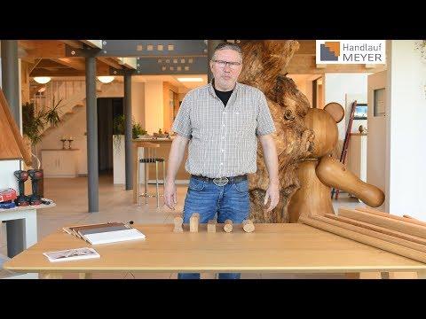 In 5 Minuten zum idealen Handlauf aus Holz