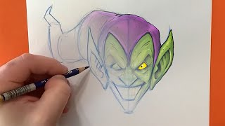 You Can Draw Green Goblin! | Marvel Draw!