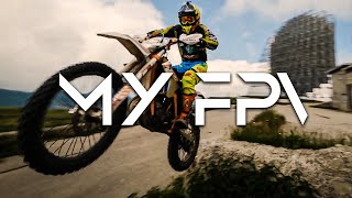 - TRY TO CATCH ME - Fpv Racing Drone VS Enduro