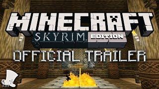 Skyrim Mash Up - Minecraft Xbox 360 OFFICIAL Trailer
