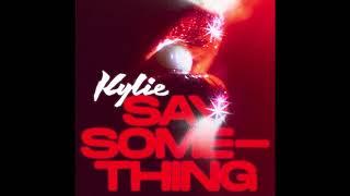 Kadr z teledysku Say Something tekst piosenki Kylie Minogue