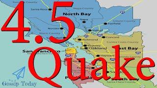California Earthquake Bay Area San Francisco
