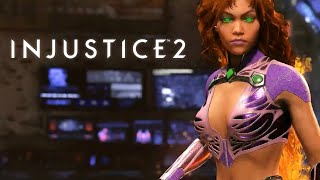 Injustice 2 - Official Starfire Gameplay Trailer