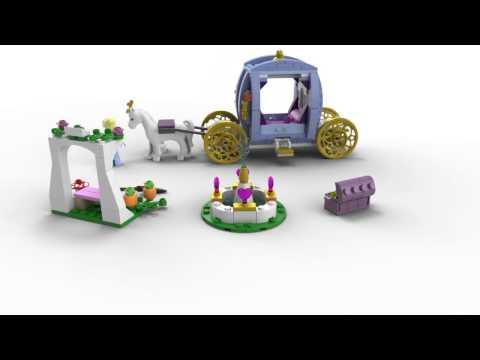 Vidéo LEGO Disney 41053 : Le carrosse enchanté de Cendrillon