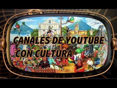 Recomendaciones de canales de youtube de cultura