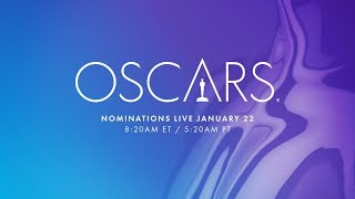 Relive this year's Oscar nominations announcement with Kumail Nanjiani and Tracee Ellis Ross. See the full list on Oscar.com.