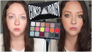 Using the Shane Dawson Conspiracy Palette || Thoughts. Brunch GRWM!