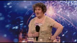 "SUSAN BOYLE ""I DREAMED A DREAM"" BRITAINS GOT TALENT 2009 (SINGER) (HD)"