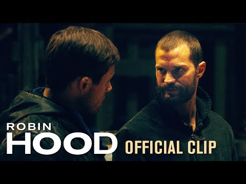 "Robin Hood (2018 Movie) Official Clip ""That's Where We Hit It"" – Taron Egerton & Jamie Dornan"