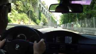 preview picture of video 'Tour du circuit de Pau en BMW M3 avec Maxime Bochet'