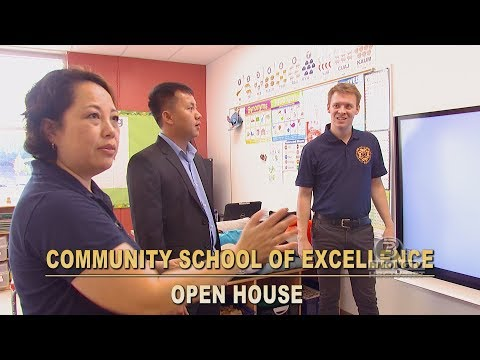 3 HMONG NEWS: A quick tour of Community School of Excellence brand new school.