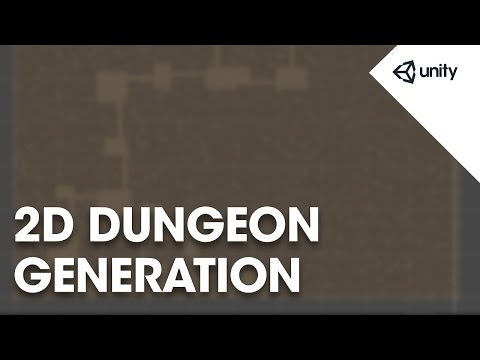 Basic 2D Dungeon Generation - Unity