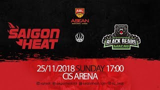 ABL9  || Home Game 2: Saigon Heat vs Macau Black Bears 25/11 | Full Game Replay
