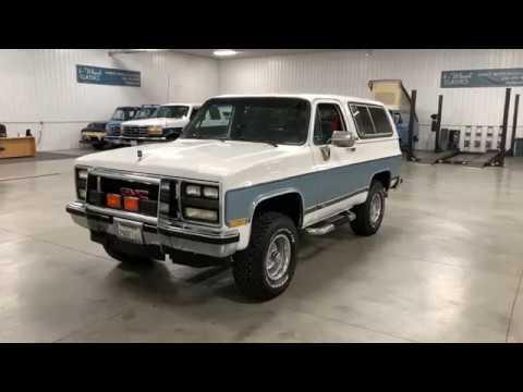 Video of '89 Jimmy - Q1NH
