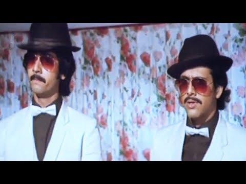 Govinda & Rohan Kapoor dress up as Business Tycoon - Hindi Comedy Scene 6/13 | Tanuja | Love 86 (k)