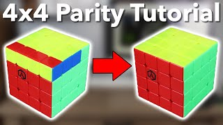 Download The BEST Way To Do 4x4 Parity | OLL and PLL Parity Tutorial