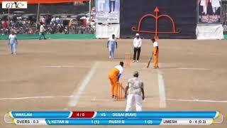 Ketan Mhatre (Waklan) Scored 85 Runs In 20 Balls At Late Chandu Seth Smruthi Chashak Khoni 2019