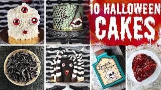 10 More Amazing & Easy Halloween Cakes