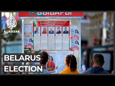 Voting under way in Belarus as protests rattle Lukashenko