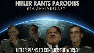 Hitler plans to conquer the world