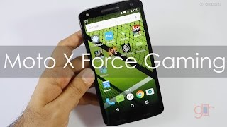 Moto X Force Gaming review with Heavy Games & Temp Check