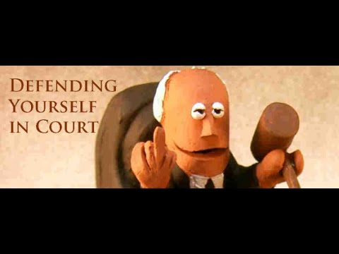 Should You Defend Yourself In Court? Lawyers Say No & They Never Lie