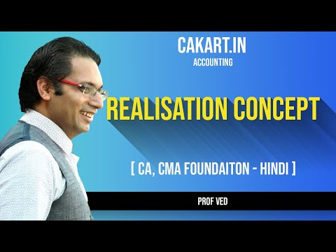 Realisation Concept in Accounts for CA/CMA Foundation By Prof Ved