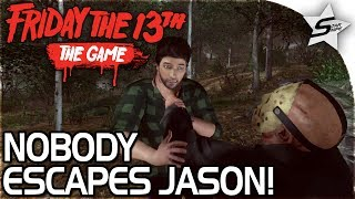 "FRIDAY THE 13TH - ""I AM JASON, NO ONE WILL ESCAPE"" - Friday the 13th Game Gameplay w/ Royal, Daft"