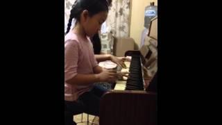 Очень красивая мелодия на фортепиано в 4 руки