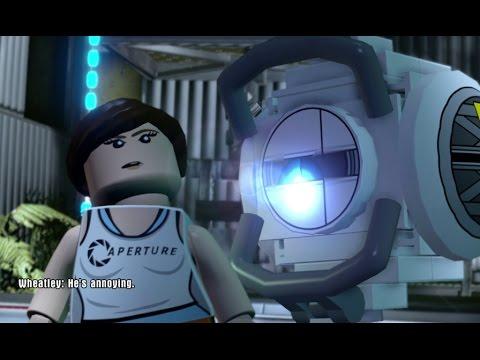 LEGO Dimensions - Portal 2 Level Pack Walkthrough (Aperture Science)