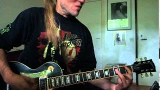 """Sakke plays """"Change"""" (Ace Frehley cover from Space Invader album)"""