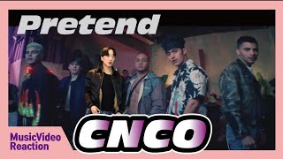 CNCO   Pretend (Official Video) [Reaction]
