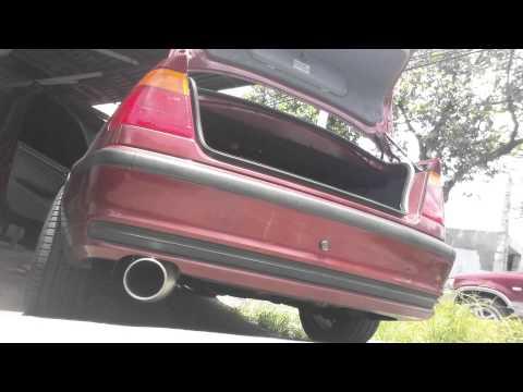 BMW E46 1UZ Fujitsubo FGK Super Ti cold start - смотреть