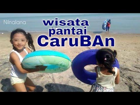 Wisata Bersama Nilnalana Di Pantai Caruban Yang Indah Di Jawa Tengah