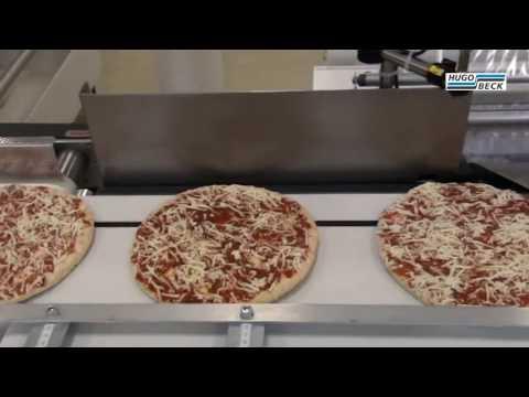 Packaging of frozen pizza