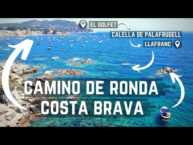 Coastal Path from Calella de Palafrugell to Llafranc, Costa Brava, España ≫3,5km≪