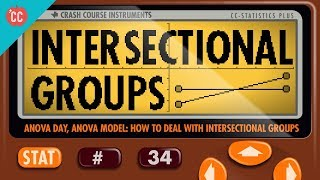 ANOVA Part 2: Dealing with Intersectional Groups: Crash Course Statistics #17