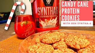 BSN Candy Cane Protein Cookies!
